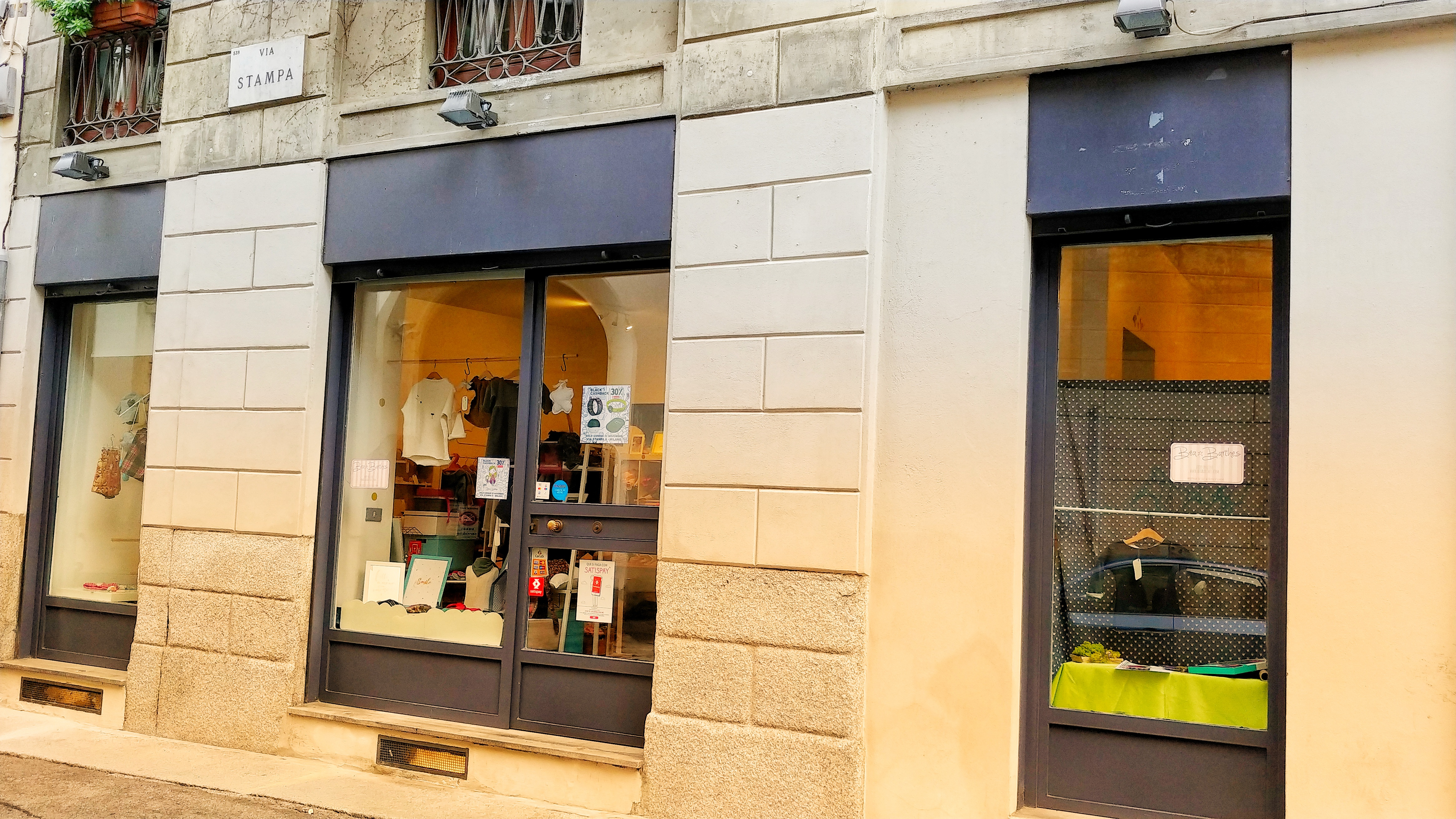 Temporary store Semiperdo