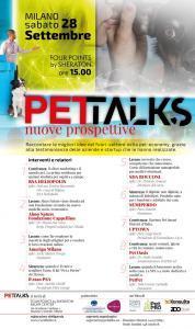 Locandina Pet Talks, Milano, 28 settembre 2019