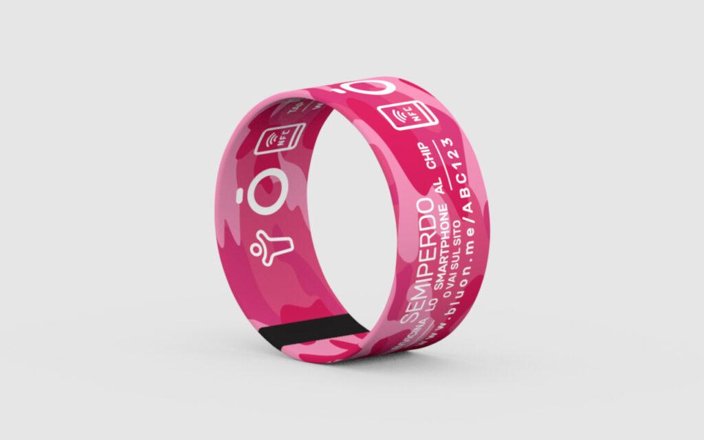 BRACCIALETTO SEMIPERDO - Wild Pink